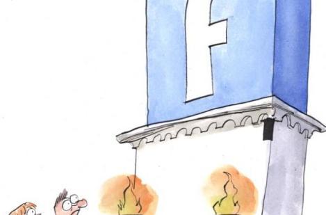 ¡El reinado de Facebook!